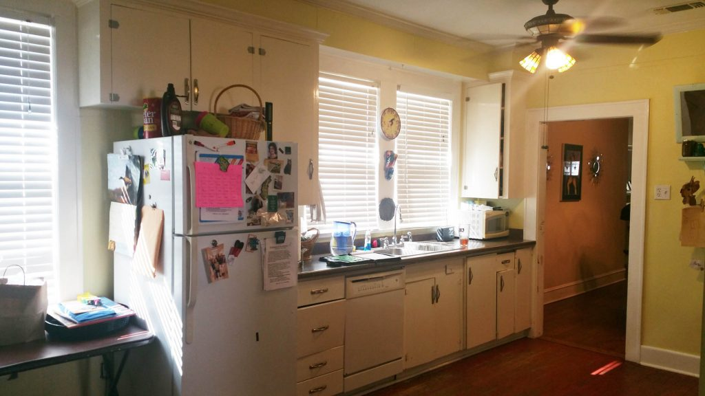 Our homeowners didn't need all three windows and didn't like where the refrigerator was located.