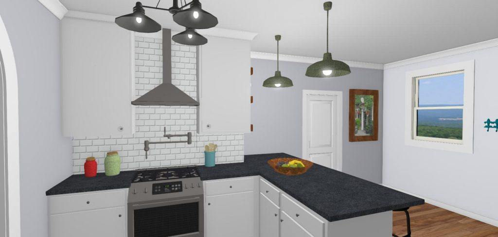 Broadmoor Kitchen Rendering