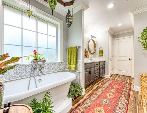 Boho Master Bathroom Remodel