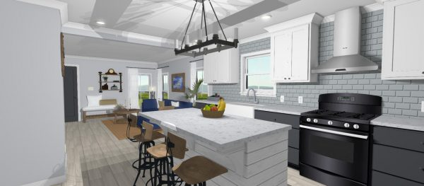 Bayou Kitchen Rendering