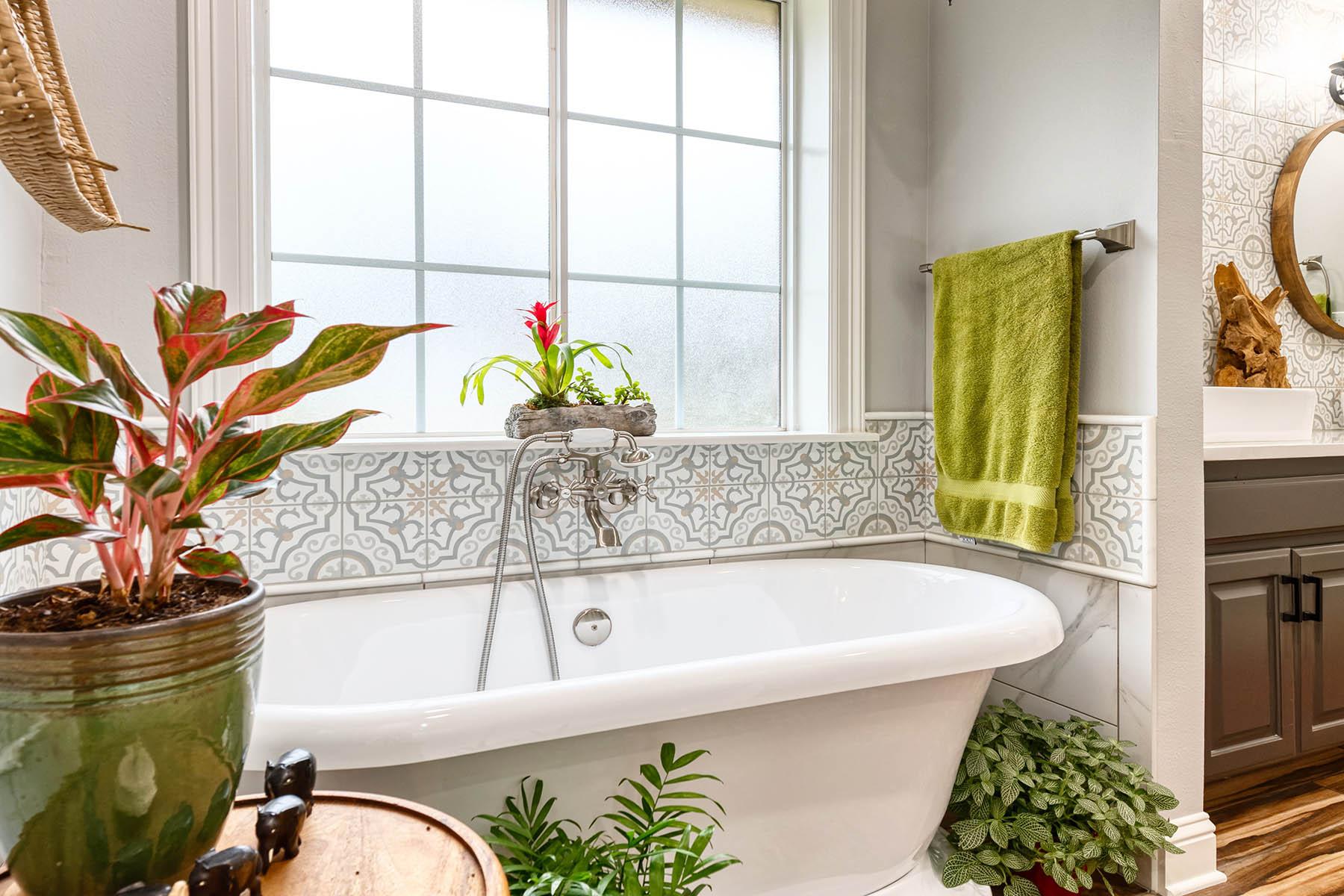 Boho Bathroom Remodel
