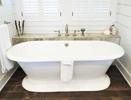 Farmhouse Fab Master Bathroom Remodel