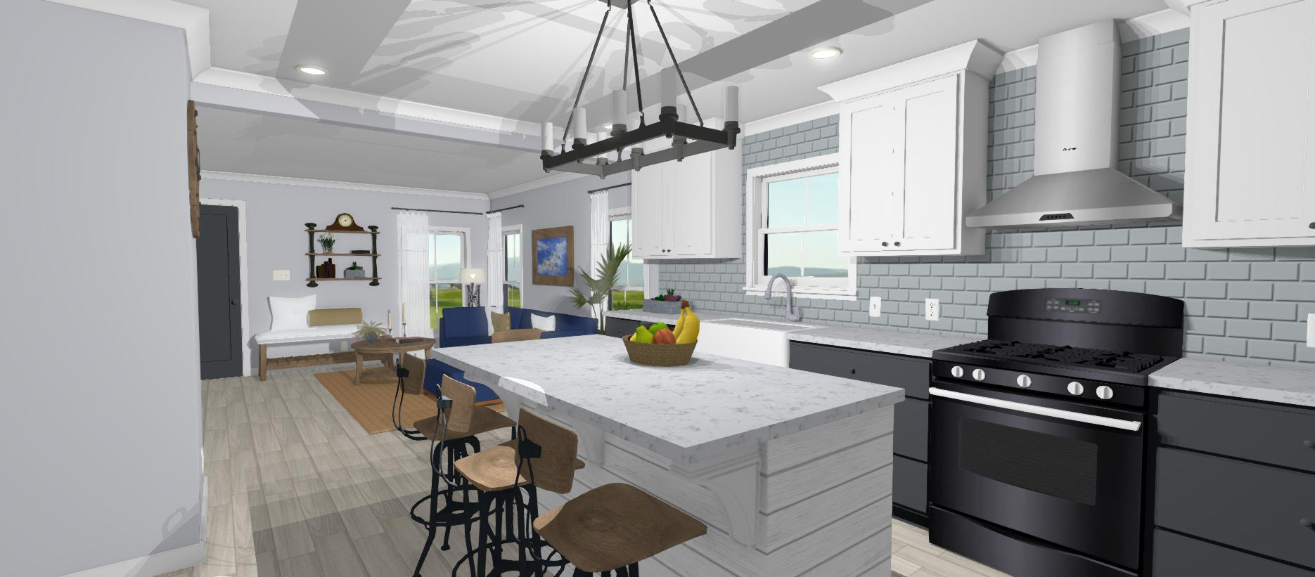 Home Design Renderings