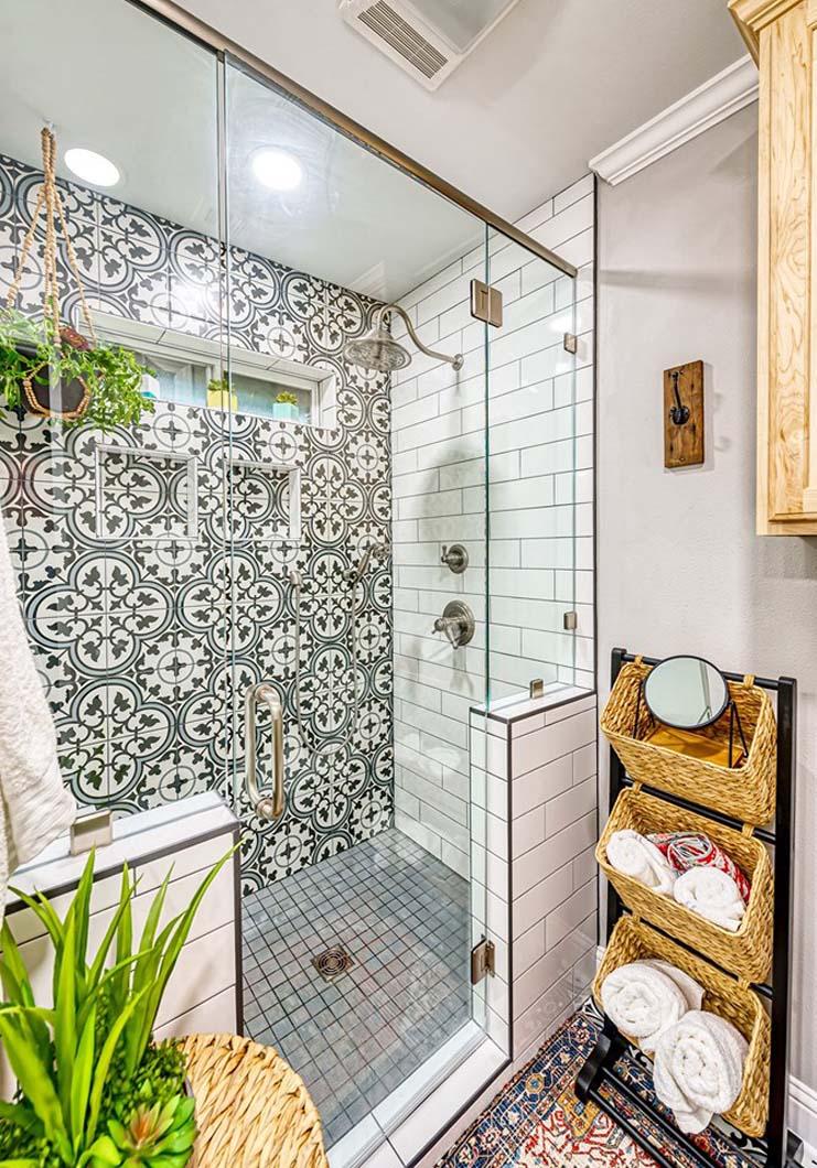 Surprise Bathroom - Shower After