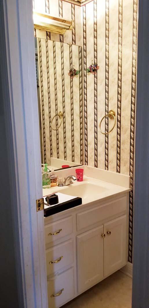 Surprise Bathroom - Vanity Before