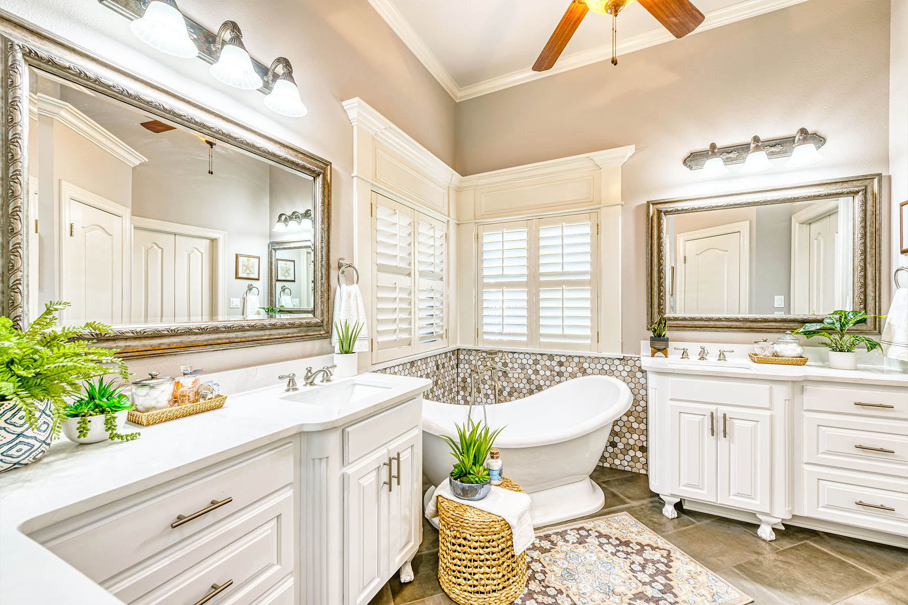 Transitional Master Bathroom Remodel