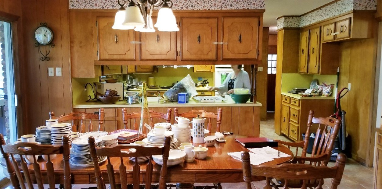 Rustic Kitchen Remodel Before