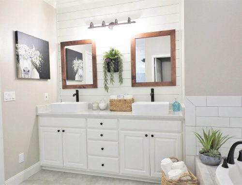Benton Farmhouse Master Bathroom Remodel