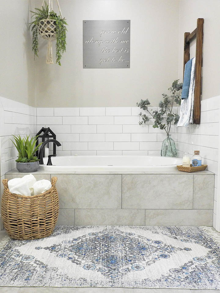 Benton Farmhouse Master Bathroom After Remodel