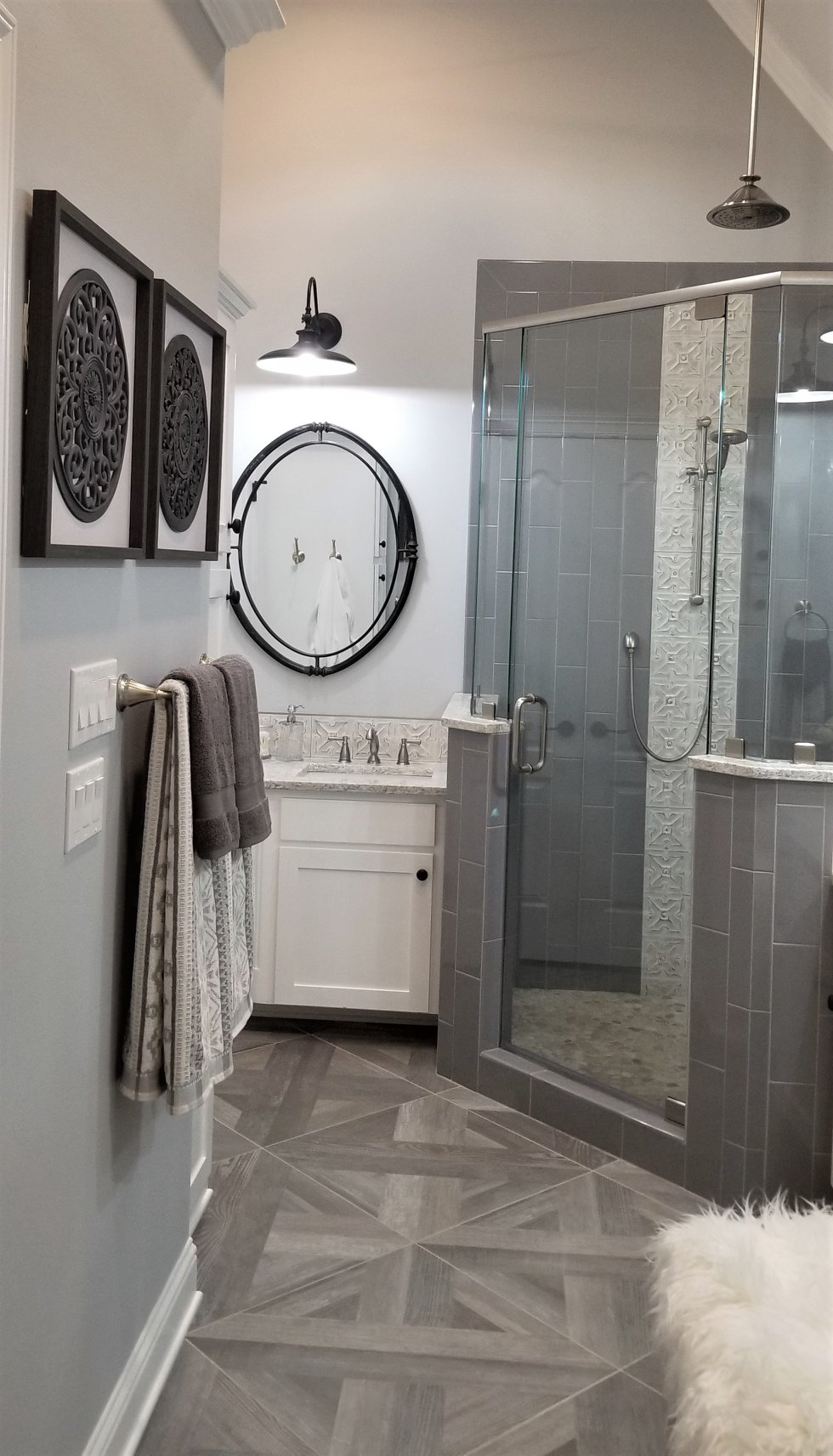 Cherry Ridge Master Bathroom Remodel