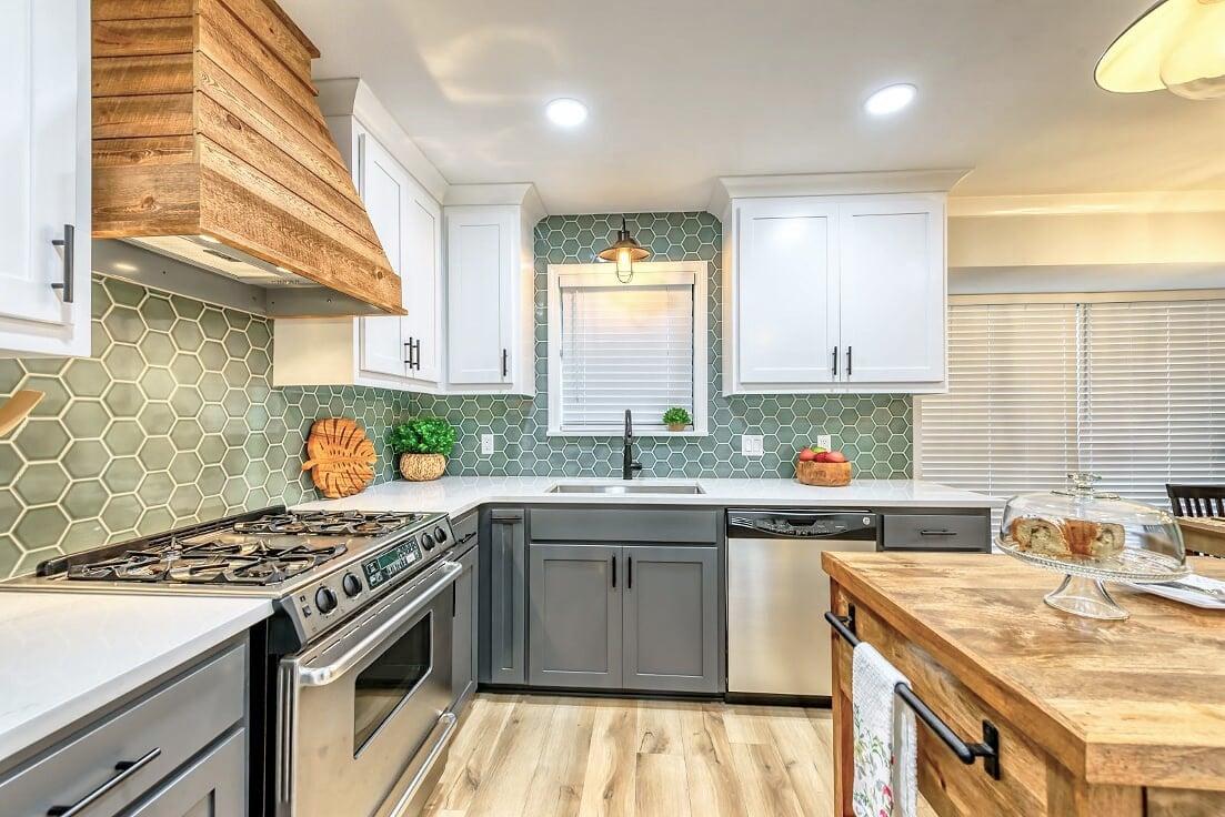 Glamping Inspired Kitchen