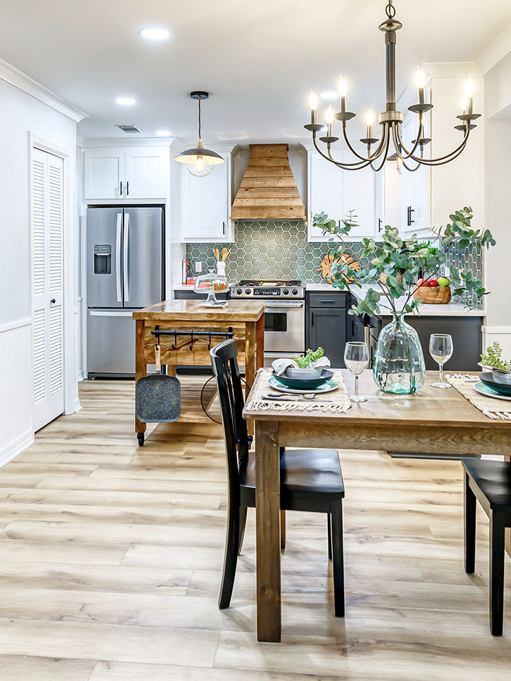 Glamping Inspired Kitchen After