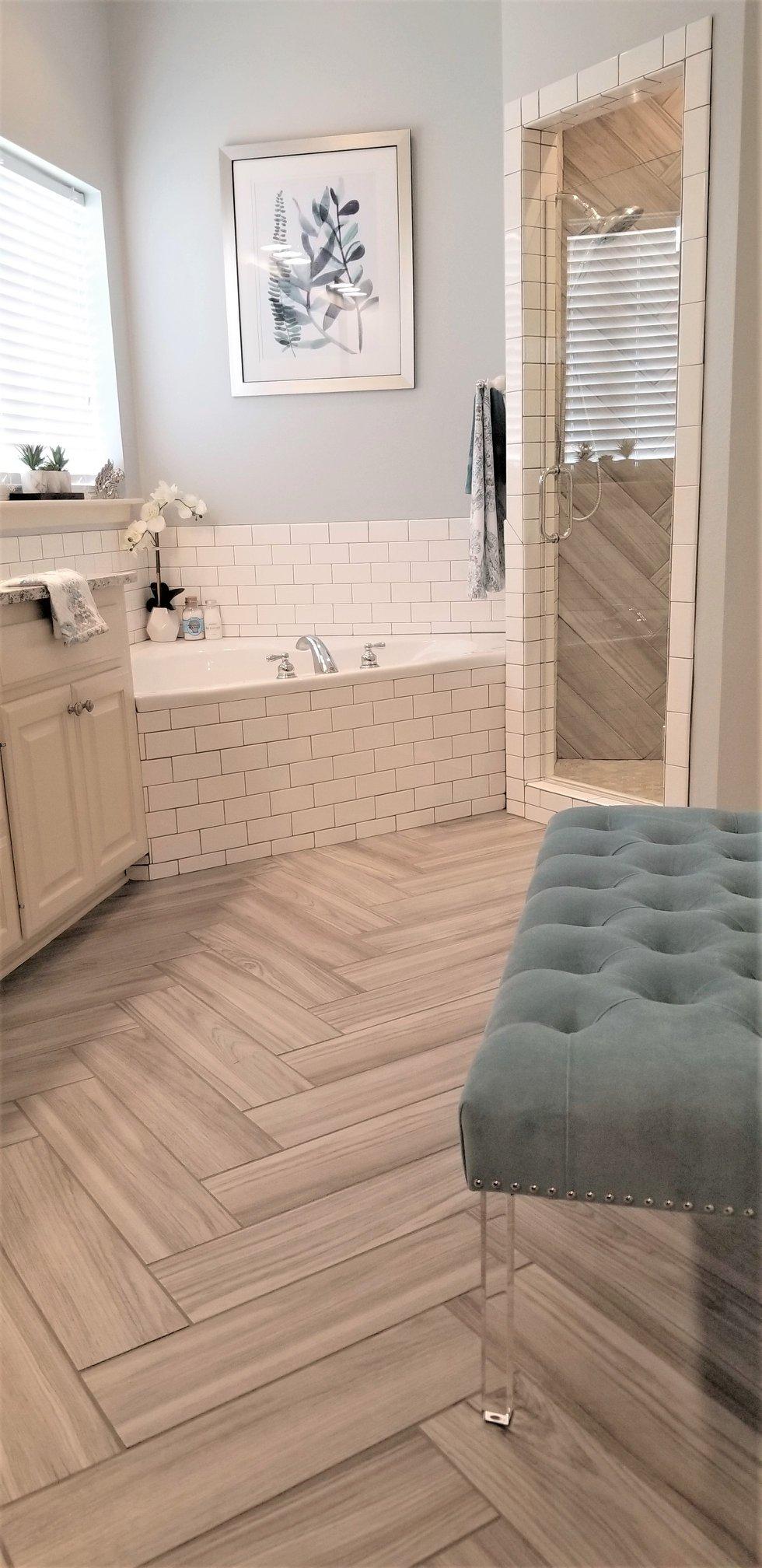 Lucky Estates Master Bathroom After Remodel