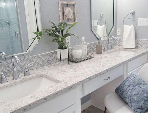 Benton Beach Vibe Master Bathroom Remodel