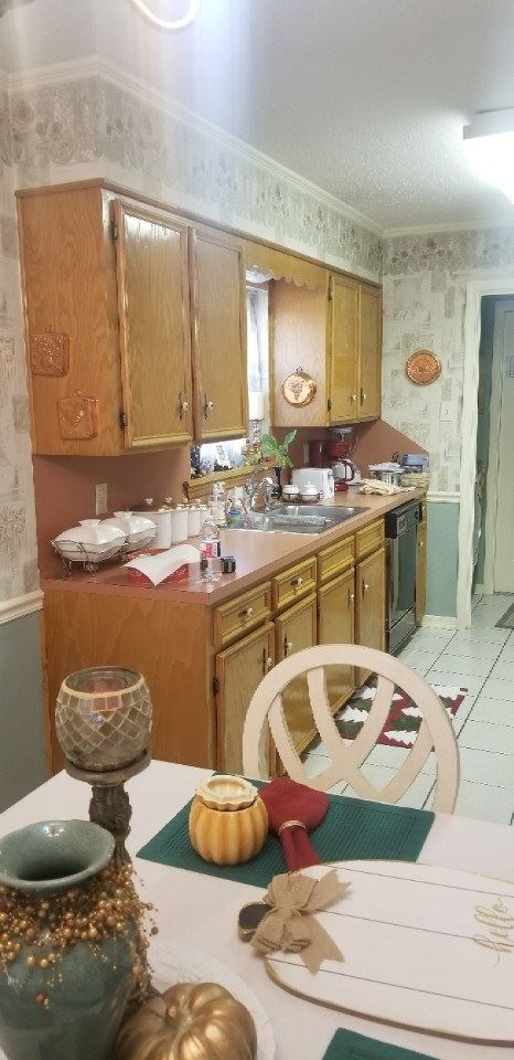 Christmas Kitchen and Guest Bathroom Remodel Before