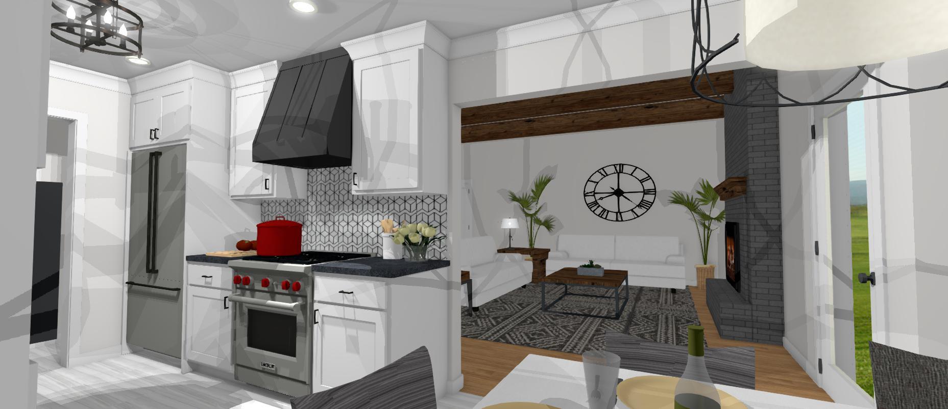Christmas Kitchen Remodel Renderings