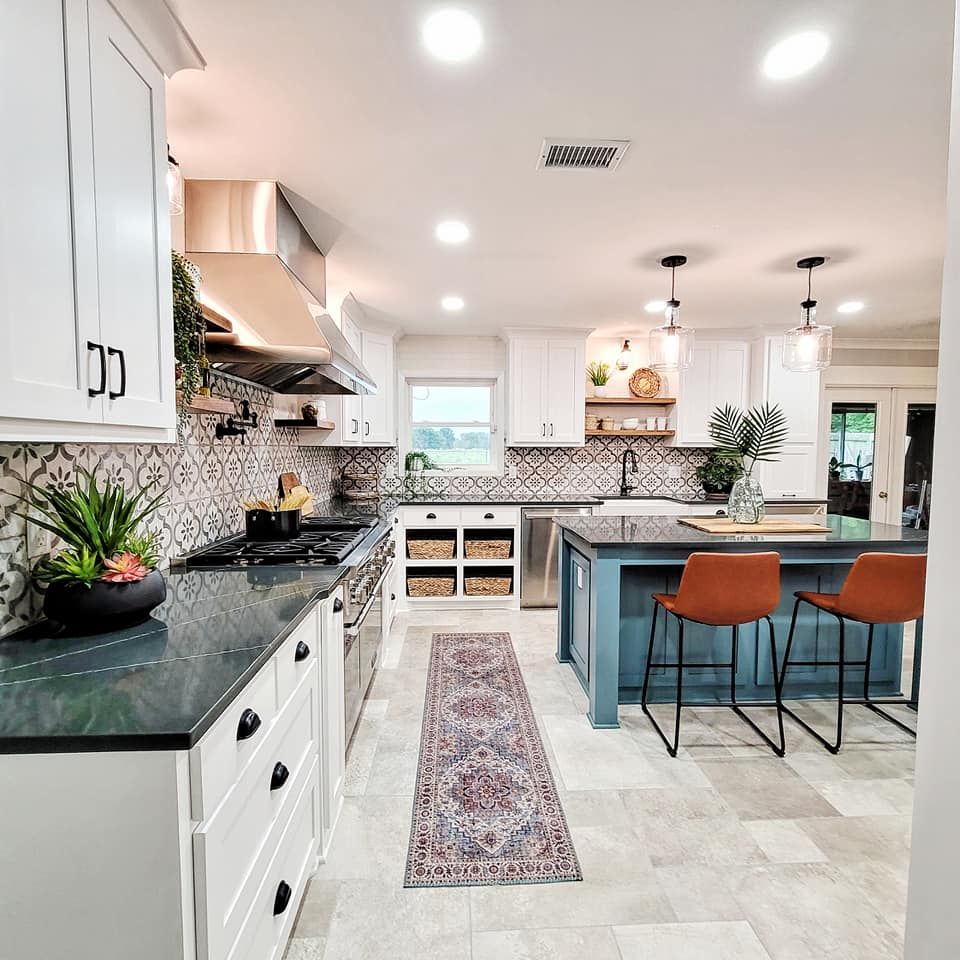 Tuscan Kitchen Remodel After